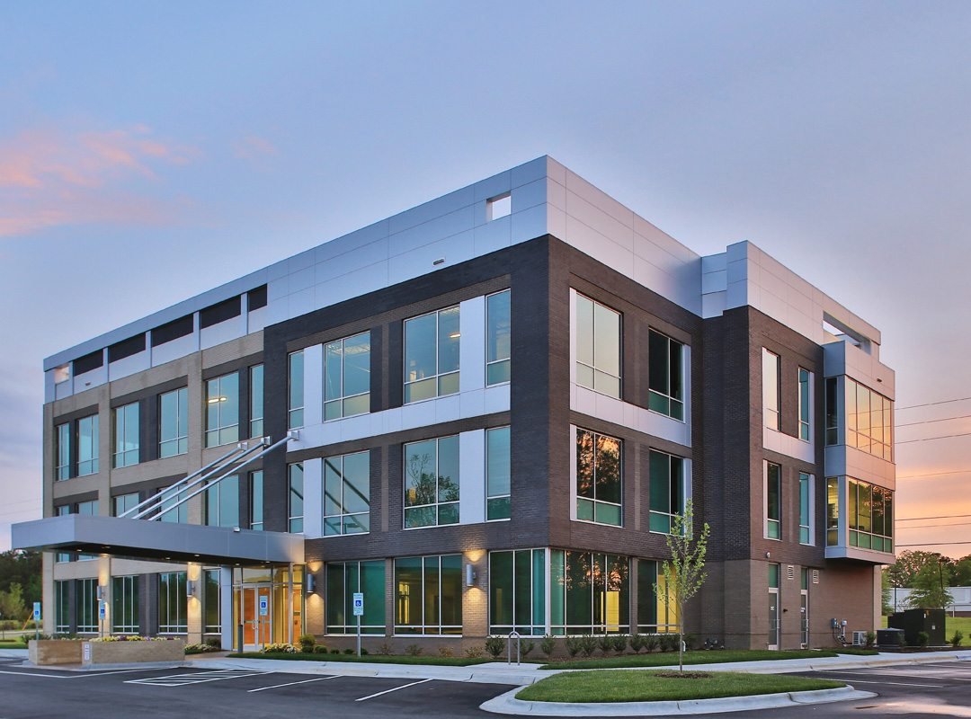 Apollo medical office building ora architecture for Exterior design office buildings